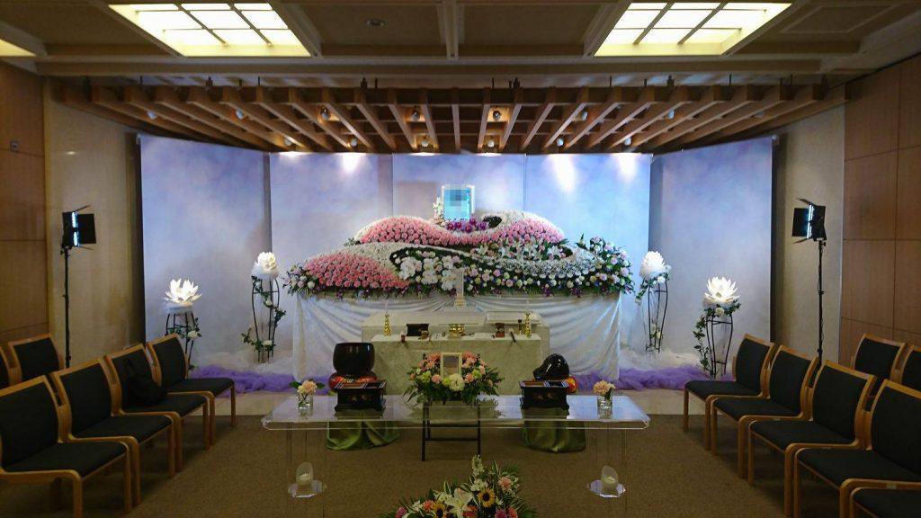 ご葬儀・お葬式・生花祭壇写真